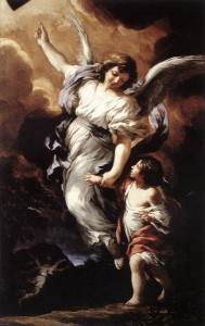 CORTONA, Pietro da, The Guardian Angel, 1656, Oil on canvas, Galleria Nazionale d'Arte Antica, Rome