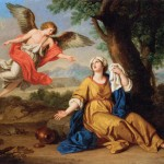 BOTTANI, Giuseppe, Hagar and the Angel, c. 1776, Oil on canvas, 40 x 73 cm, Musée du Louvre, Paris