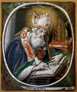 St. Ambrose, Bishop of Milan, 337-397
