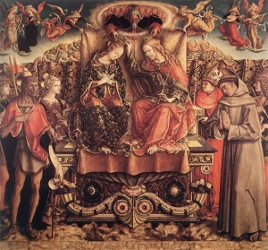 CRIVELLI, Carlo, Coronation Of The Virgin, 1493